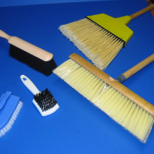 Brushes, Brooms, Mops