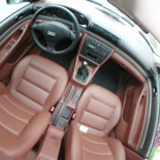 Cleaning car interiors: dashboard and seats
