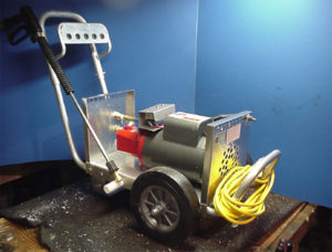 Portable pressure washer electric