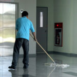 Floor and carpet cleaning in schools and offices