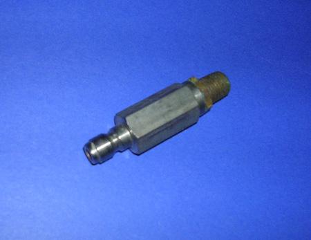 High pressure nozzle filter