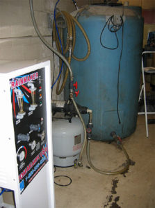 Reverse osmosis for spot free cleaning