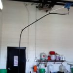 Hand car wash system garage