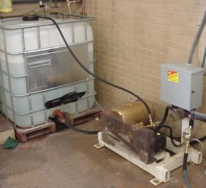 Reverse Osmosis - storage tank